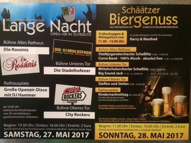 Lange Nacht 2017 Flyer